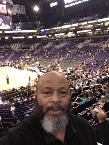 Harvey attended Phoenix Suns vs. Atlanta Hawks - NBA on Feb 2nd 2019 via VetTix