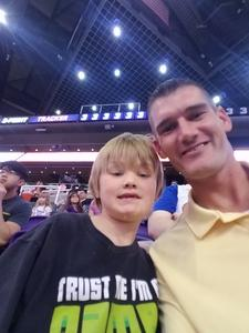 Chandler attended Phoenix Suns vs. Atlanta Hawks - NBA on Feb 2nd 2019 via VetTix