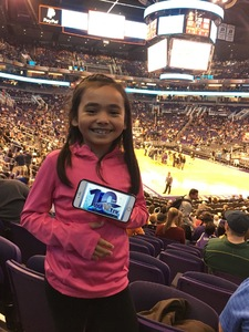 Gabriel attended Phoenix Suns vs. Atlanta Hawks - NBA on Feb 2nd 2019 via VetTix