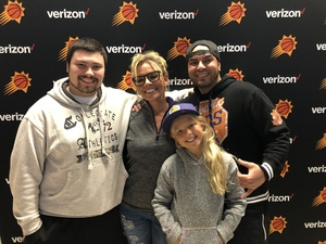 Victor attended Phoenix Suns vs. Atlanta Hawks - NBA on Feb 2nd 2019 via VetTix