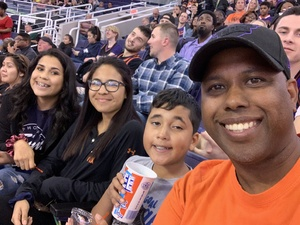 Corey attended Phoenix Suns vs. Atlanta Hawks - NBA on Feb 2nd 2019 via VetTix