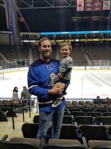Cody attended Jacksonville Icemen vs. Norfolk Admirals - ECHL on Feb 1st 2019 via VetTix