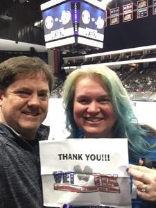 Jason attended Jacksonville Icemen vs. Norfolk Admirals - ECHL on Feb 1st 2019 via VetTix