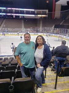 Richard attended Jacksonville Icemen vs. Norfolk Admirals - ECHL on Feb 1st 2019 via VetTix