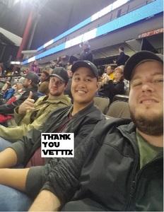 David attended Jacksonville Icemen vs. Norfolk Admirals - ECHL on Feb 1st 2019 via VetTix