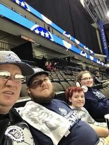 Stephen attended Jacksonville Icemen vs. Norfolk Admirals - ECHL on Feb 1st 2019 via VetTix