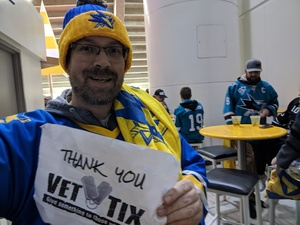 Michael attended San Jose Sharks vs. Vancouver Canucks - NHL on Feb 16th 2019 via VetTix