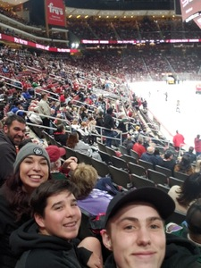 Trisha attended Arizona Coyotes vs. Columbus Blue Jackets - NHL on Feb 7th 2019 via VetTix