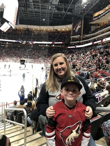 Kevyn attended Arizona Coyotes vs. Columbus Blue Jackets - NHL on Feb 7th 2019 via VetTix