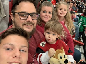 Christopher attended Arizona Coyotes vs. Columbus Blue Jackets - NHL on Feb 7th 2019 via VetTix