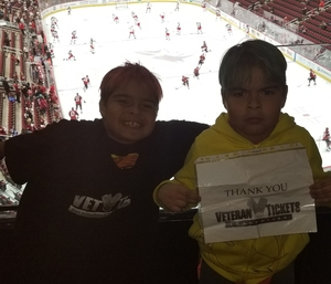 Lorenzo attended Arizona Coyotes vs. Columbus Blue Jackets - NHL on Feb 7th 2019 via VetTix