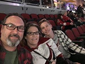 Michael attended Arizona Coyotes vs. Columbus Blue Jackets - NHL on Feb 7th 2019 via VetTix