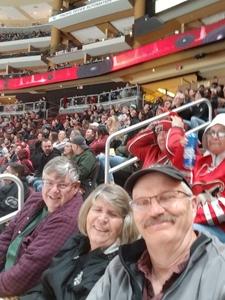 Corky attended Arizona Coyotes vs. Columbus Blue Jackets - NHL on Feb 7th 2019 via VetTix