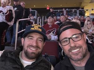 Scot attended Arizona Coyotes vs. Columbus Blue Jackets - NHL on Feb 7th 2019 via VetTix