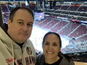 Thomas attended Arizona Coyotes vs. Columbus Blue Jackets - NHL on Feb 7th 2019 via VetTix