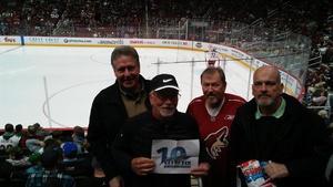 david attended Arizona Coyotes vs. Columbus Blue Jackets - NHL on Feb 7th 2019 via VetTix