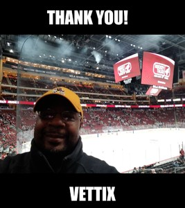 Reginald attended Arizona Coyotes vs. Columbus Blue Jackets - NHL on Feb 7th 2019 via VetTix