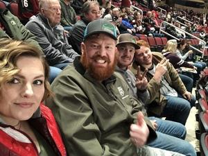 TJ attended Arizona Coyotes vs. Columbus Blue Jackets - NHL on Feb 7th 2019 via VetTix