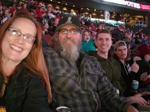 Douglas attended Arizona Coyotes vs. Columbus Blue Jackets - NHL on Feb 7th 2019 via VetTix
