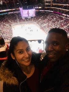 Kelandis attended Arizona Coyotes vs. Columbus Blue Jackets - NHL on Feb 7th 2019 via VetTix