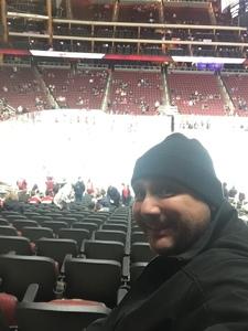 Marco attended Arizona Coyotes vs. Columbus Blue Jackets - NHL on Feb 7th 2019 via VetTix
