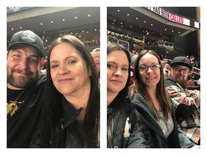 Tina attended Arizona Coyotes vs. Columbus Blue Jackets - NHL on Feb 7th 2019 via VetTix