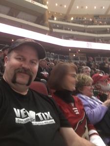 Dennis attended Arizona Coyotes vs. Columbus Blue Jackets - NHL on Feb 7th 2019 via VetTix