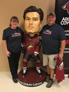 Gregory attended Arizona Coyotes vs. Columbus Blue Jackets - NHL on Feb 7th 2019 via VetTix