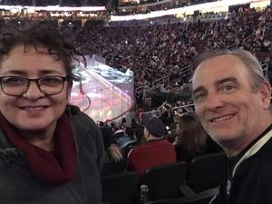 Bill attended Arizona Coyotes vs. Columbus Blue Jackets - NHL on Feb 7th 2019 via VetTix