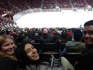 Rodolfo attended Arizona Coyotes vs. Columbus Blue Jackets - NHL on Feb 7th 2019 via VetTix