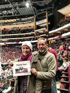 Mark attended Arizona Coyotes vs. Columbus Blue Jackets - NHL on Feb 7th 2019 via VetTix