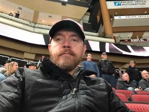 Lantz attended Arizona Coyotes vs. Columbus Blue Jackets - NHL on Feb 7th 2019 via VetTix