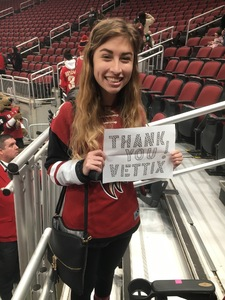 Tom attended Arizona Coyotes vs. Columbus Blue Jackets - NHL on Feb 7th 2019 via VetTix