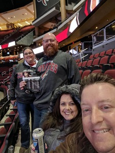 Chad attended Arizona Coyotes vs. Columbus Blue Jackets - NHL on Feb 7th 2019 via VetTix