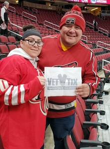 Donovan attended Arizona Coyotes vs. Columbus Blue Jackets - NHL on Feb 7th 2019 via VetTix