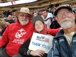 Rick attended Arizona Coyotes vs. Columbus Blue Jackets - NHL on Feb 7th 2019 via VetTix