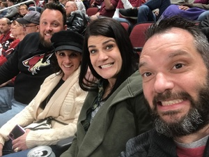 Mark attended Arizona Coyotes vs. Columbus Blue Jackets - NHL on Feb 7th 2019 via VetTix