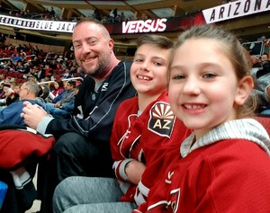 Steve attended Arizona Coyotes vs. Columbus Blue Jackets - NHL on Feb 7th 2019 via VetTix