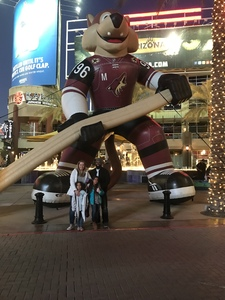 Dareion attended Arizona Coyotes vs. Columbus Blue Jackets - NHL on Feb 7th 2019 via VetTix