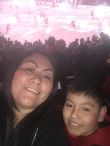 Marissa attended Arizona Coyotes vs. Columbus Blue Jackets - NHL on Feb 7th 2019 via VetTix