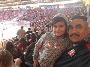 Alejandro attended Arizona Coyotes vs. Columbus Blue Jackets - NHL on Feb 7th 2019 via VetTix