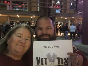Christina attended Arizona Coyotes vs. Columbus Blue Jackets - NHL on Feb 7th 2019 via VetTix