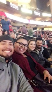 Esmeralda attended Arizona Coyotes vs. Columbus Blue Jackets - NHL on Feb 7th 2019 via VetTix