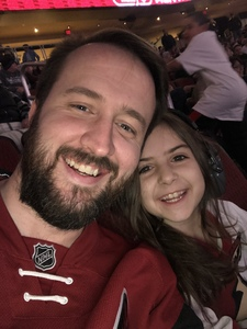 Matthew attended Arizona Coyotes vs. Columbus Blue Jackets - NHL on Feb 7th 2019 via VetTix