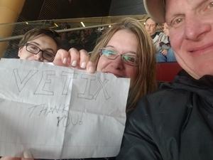 Kenneth attended Arizona Coyotes vs. Columbus Blue Jackets - NHL on Feb 7th 2019 via VetTix