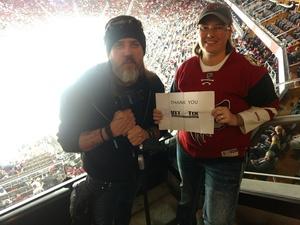 M.G. attended Arizona Coyotes vs. Columbus Blue Jackets - NHL on Feb 7th 2019 via VetTix