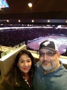 Jose attended Arizona Coyotes vs. Columbus Blue Jackets - NHL on Feb 7th 2019 via VetTix