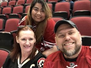 Edward attended Arizona Coyotes vs. Columbus Blue Jackets - NHL on Feb 7th 2019 via VetTix