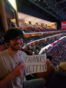 Pat attended Arizona Coyotes vs. Columbus Blue Jackets - NHL on Feb 7th 2019 via VetTix