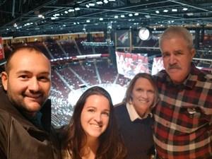 Keith attended Arizona Coyotes vs. Columbus Blue Jackets - NHL on Feb 7th 2019 via VetTix